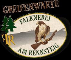 """Greifenwarte """"Falknerei am Rennsteig"""" - Logo"""